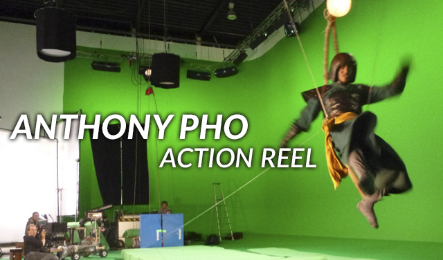 Action stunt reel
